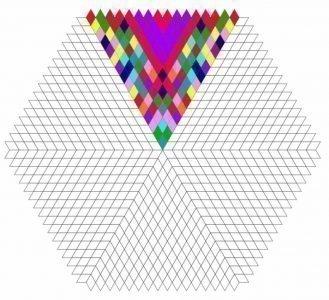 Пример раскрашивание мандалы