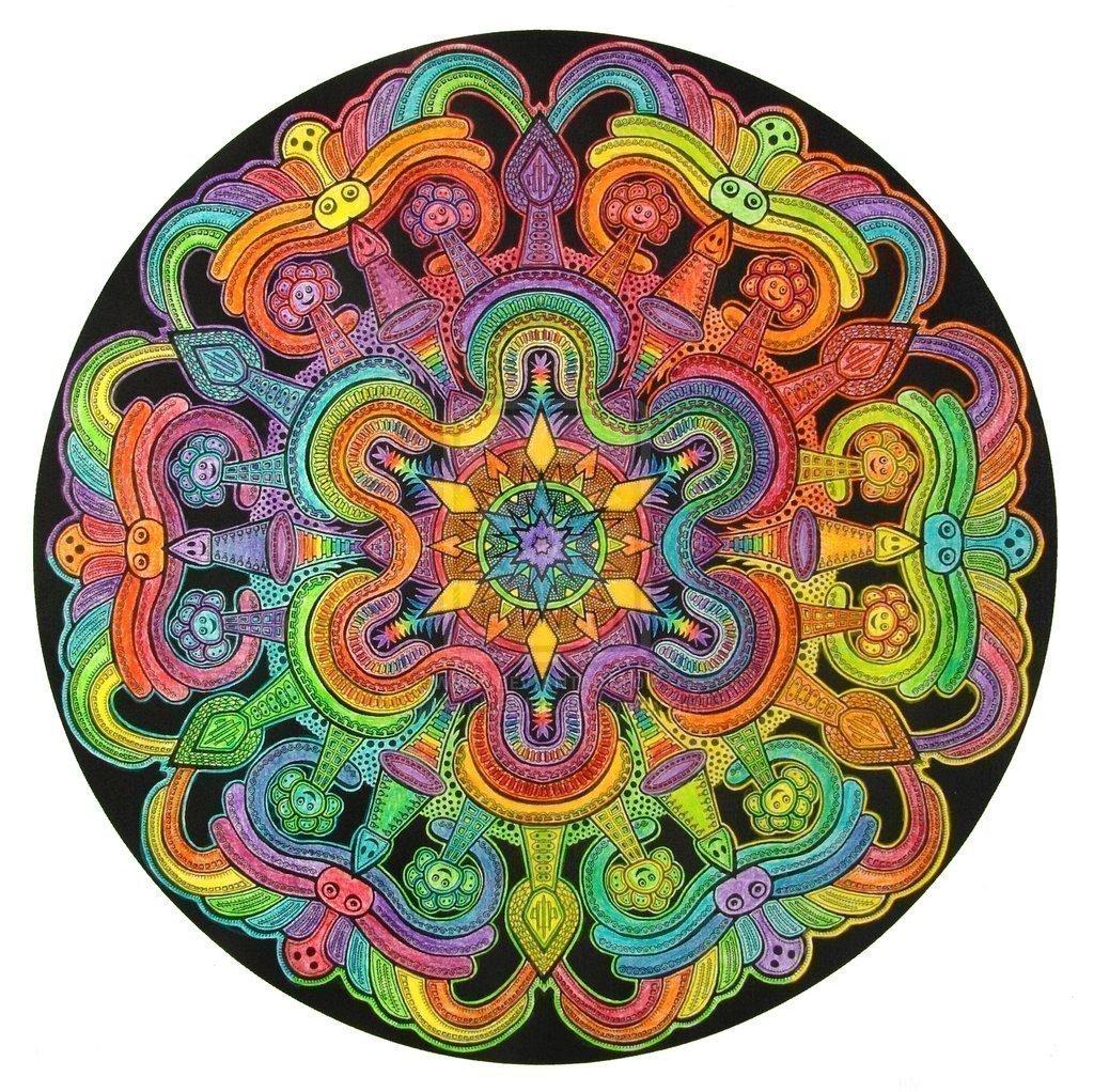 Многоцветная мандала