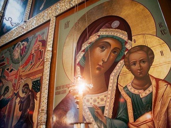 Молитвы перед иконами божией матери
