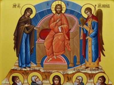 Икона для чтения молитвы задержания старца Пансофия