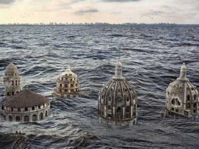 Затопление больших городов