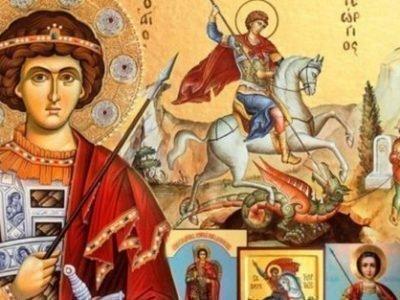 Молитвы Георгию обедоносцу на победу
