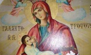 В чем помогают молитвы перед иконой Богородицы «Млекопитательница»