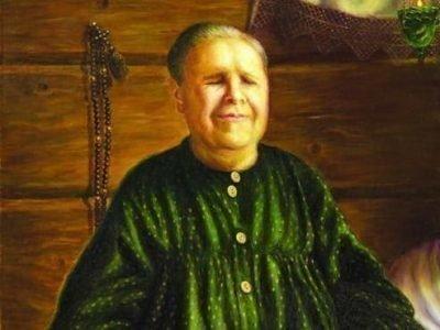 Святая матрона Московская, портрет
