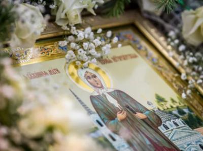Молитвы у иконы Ксении Петербуржской Петер