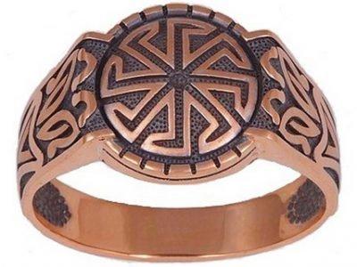 Кольцо-оберег Ладинец