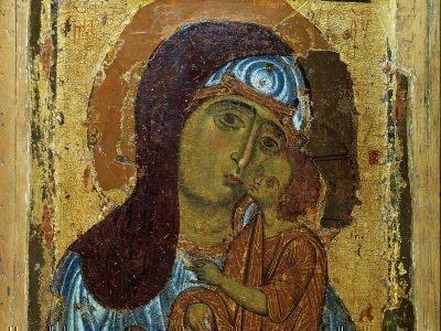 Новгородская икона «Умиление»