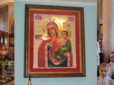 Икона Отрада и Утешение в Санкт-Петербурге