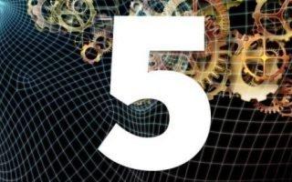 Значение числа судьбы 5 для человека