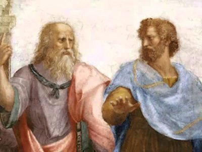 Аристотель и Платон