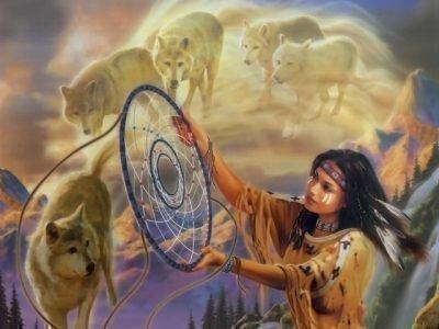 Ловец снов у индейцев