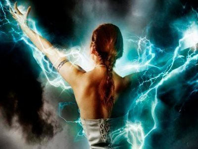 Сильная энергетика у человека