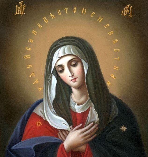 Молитва перед иконой божья матерь умиление