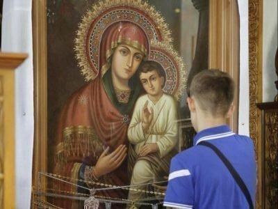 Молитва перед Святогорской иконой Богоматери