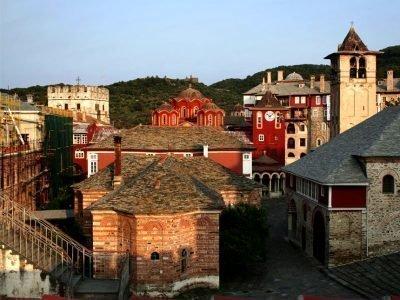 Монастырь в Ватопеде