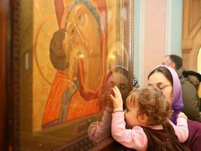 Молитвы у иконы Богородицы Владимирская