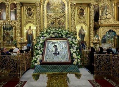 Икона Умиление в Елоховской церкви