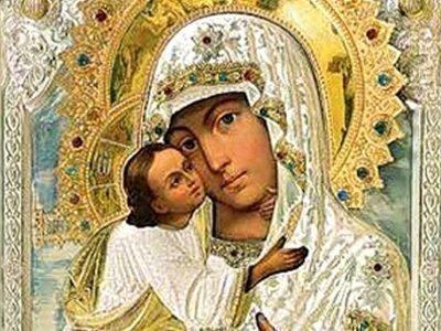 Псково-Печерская икона Божией Матери «Умиление» была написана в 1521 году иеромонахом Арсением с Владимирской иконы Божией Матери.