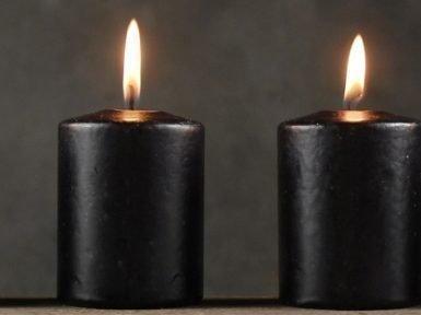Черные свечи для приворота
