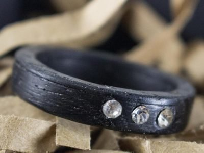 Кольцо оберег из дерева