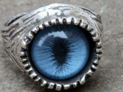 Кольцо-оберег Кошачий глаз