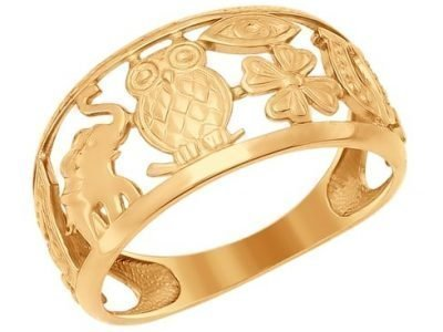 Золотое кольцо-оберег