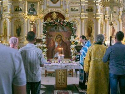 Молебен перед иконой Взыскание погибших