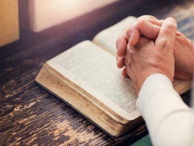 Чтение молитвы Иисусу Христу