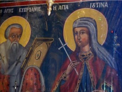 Икона в церкви св. Киприана
