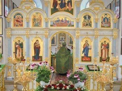Праздник Троицы в храме