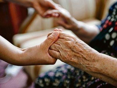 Молитва о старенькой материа
