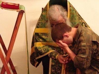 Поякаяние перед молитвой Богородице Владимирская