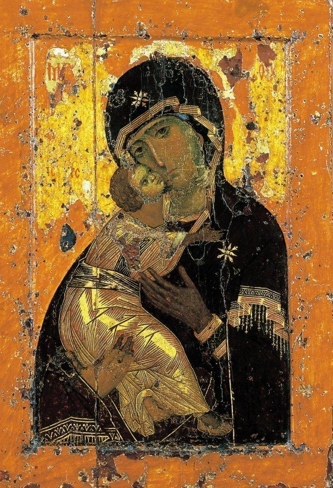 Оригинал Владимирской иконы Богородицы