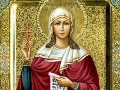 Икона св. Татьяны
