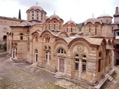 Монастырь Хиландар, Афон