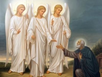 Явление святой троицы Аврааму