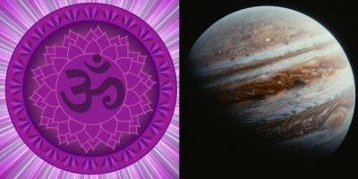 Сахасрара и Юпитер