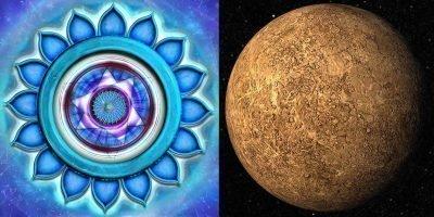 Вишудха и Меркурий