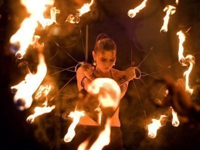 Упражнения с огнем