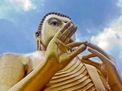 Золотой Будда в Дамбуле
