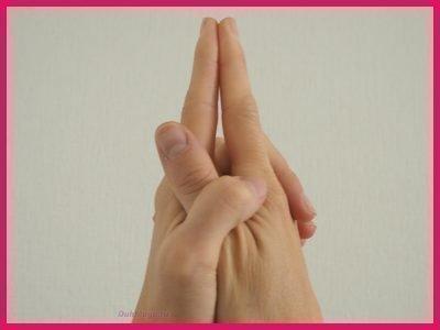 Мудра Матанги для умиротворения и укрощения гнева