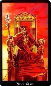 Король Жезлов. Колода Колдовское Таро Эллен Дуган