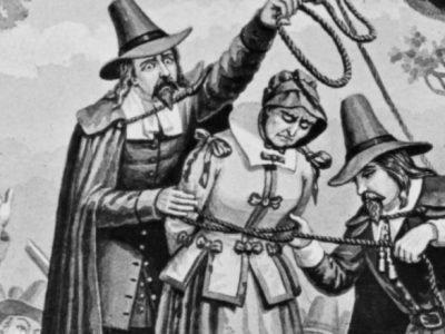 Суд над ведьмой в Средневековье