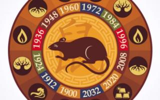 Гороскоп-2021 по году рождения для мужчины-Крысы