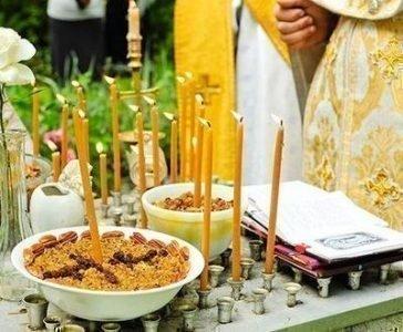 Молитвы за упокой на кладбище