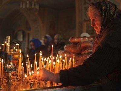 Молитвы вдовы за умершим мужем