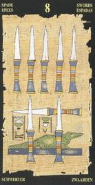Восьмерка Мечей. Египетское Таро