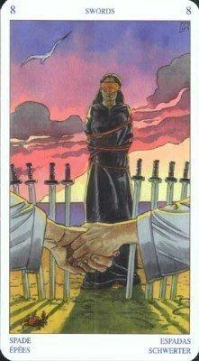 Восьмерка Мечей. Колода Языческого Таро (Белой и Черной магии)