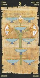 Восьмерка Чаш. Египетское Таро