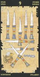 Девятка Мечей. Египетское Таро